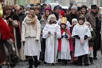 Kašpar, Melichar a Baltazar v Plzni zahájili tradiční Tříkrálovou sbírku