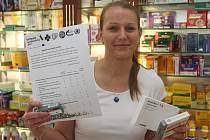 Na poslední chvíli se do akce Antibiotický týden zapojila také lékárna U Bílého jednorožce na náměstí Republiky. Informační  kampaň trvá do pátku