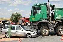 Dopravní nehoda u Litic si vyžádala jeden lidský život.