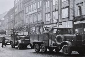 Příjezd německých vojsk do Plzně 15. března 1939