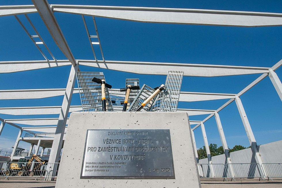 Zahájení stavby areálu pro zaměstnávání odsouzených v kovovýrobě věznice Bory.