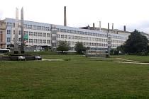 ZČU budova Fakulta zdravotnických studií Tylova ulice bývalé GŘ Škoda Plzeň
