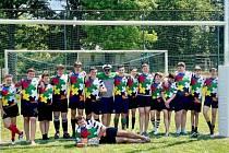 Starší ročníky plzeňských ragbistů na Česká pošta rugby cupu.