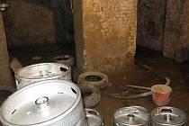 Restaurace v Třemošné, kde inspektoři nechali uzavřít sklepní prostory