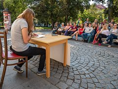 Studenti četli z Horníčka