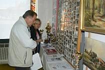 Součástí byla i výstava, kde organizace v obci představily svoji činnost za poslední roky a chlubily se úspěchy.