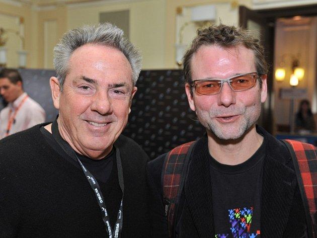 Rick McCallum (vlevo) a Radim Špaček