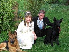 č. 192: Marie a Pavel Laiblovi, Starý Plzenec (Svatba: 21. dubna 2007)