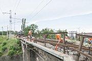 Železniční most v Dobřanech