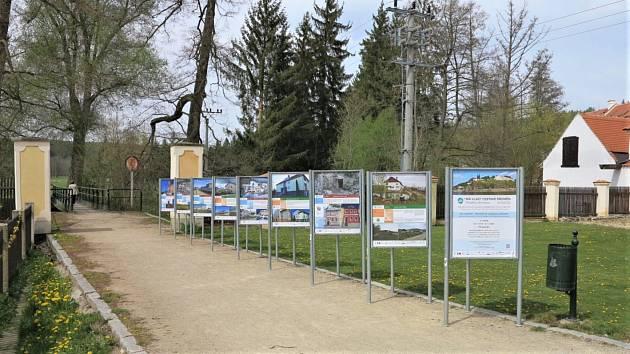 Výstava v Plasích.