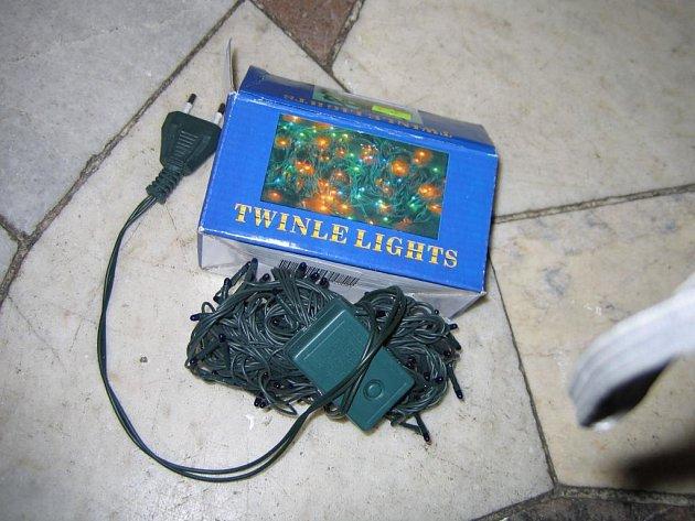 ČOI zakázala prodej světelného řetězu Twinle Lights