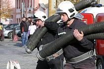Hasičská soutěž O štít města Dobřan