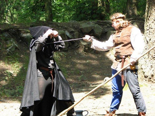 Radyně o víkendu ožila středověkem