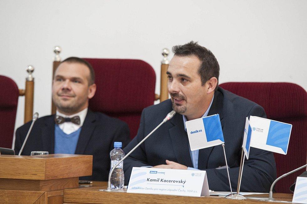 Setkání s primátorem města Plzně Martinem Baxou
