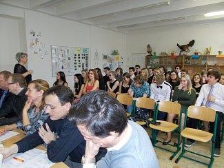 Projekt Cesta za povoláním na ZŠ Blovice.