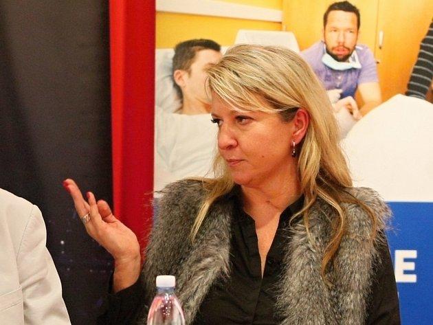 Andrea Brzobohatá překonala závažné onemocnění.