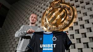 Michael Krmenčík po přestupu do belgických Brugg.