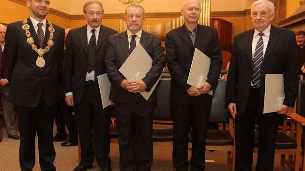 Slavnostní předání Historických pečetí města Plzně
