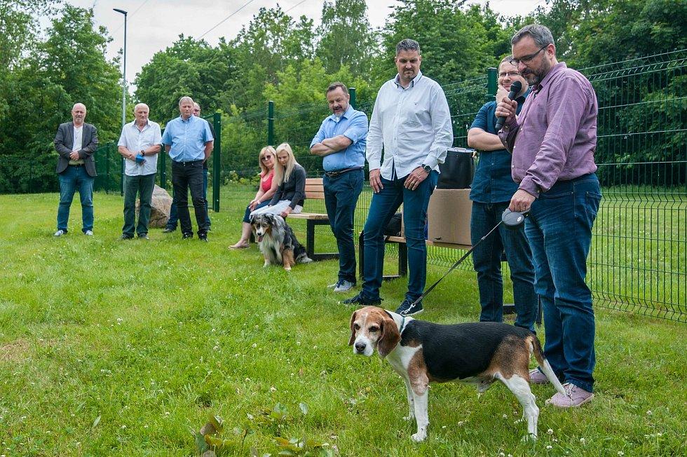 Plzeň, Borský park, nové psí hřiště