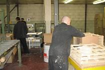 Jedním z důvodů nárůstu zaměstnanosti věznice na Borech je nový provoz firmy, pro kterou odsouzení montují rámy plastových oken