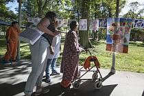 Den otevřených dveří v Psychiatrické nemocnici v Dobřanech.