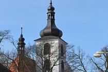 Kralovický kostel sv. Petra a Pavla.