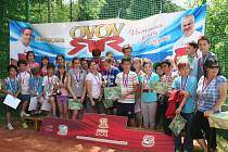 Účast v krajském finále celostátní soutěže Odznak všestrannosti olympijských vítězů si vybojovali žáci pořádající ZŠ Žinkovy
