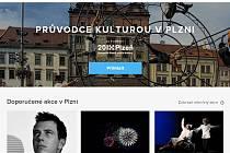 Nový web o kultuře v Plzni