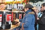 Vánoční trhy v Plzni.