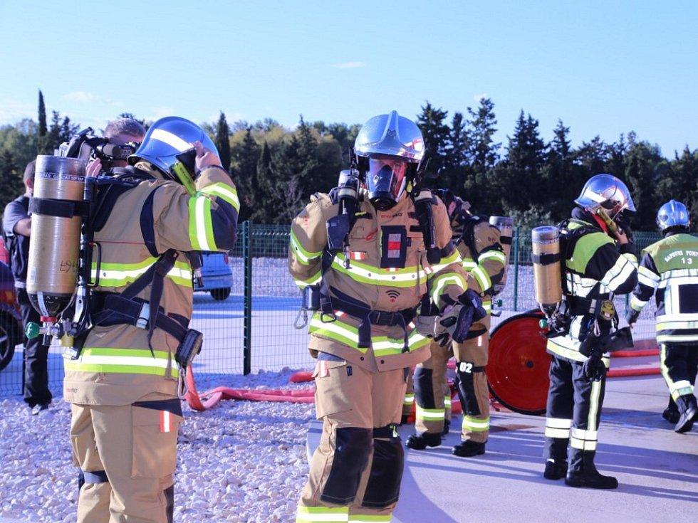 Nový zásahový oblek hasičů