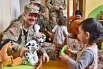 V Dětském centru Plzeň pečují o děti od narození do tří let věku v sociální a zdravotně sociální tísni. Členové klubu JTF Raiders je navštěvují a podporují pravidelně.