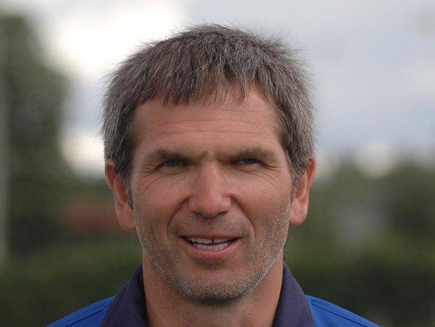 Trenér Viktorie Plzeň B František Sluka