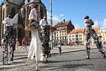 Fotografie z plzeňského festivalu Na ulici...