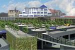Vizualizace nového projektu u plzeňského Rondelu