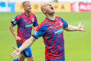 Útočník Michael Krmenčík vstřelil Karviné dva góly.