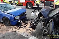 Nehoda u Třemošné.