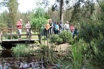Den otevřených zahrad v Plzni v arboretu Sofronka