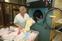 Prádelna ve Fakultní nemocnici v Plzni