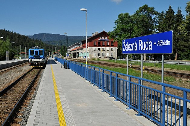 Dopravní a inženýrské stavby: Rekonstrukce železniční trati Klatovy - Železná Ruda