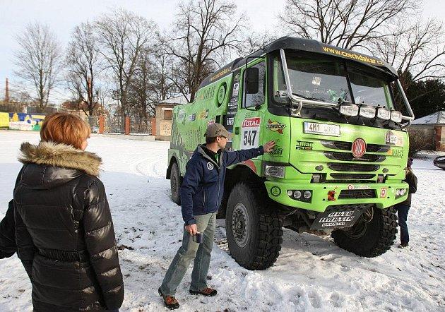 Tatra Czech Dakar Teamu v Plzni