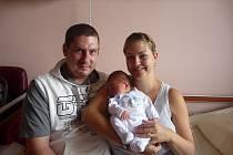Matyáš (4,01 kg, 52 cm) se narodil 21. srpna ve 23:58 v plzeňské fakultní nemocnici. Na světě ho přivítali rodiče Marta a Michal Jakovcovi ze Stříbra. Doma na brášku čeká Michal (2,5)