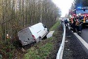 Vážná nehoda u Dobřan