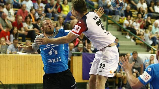 Extraliga házené play off Talent Plzeň x Jičín