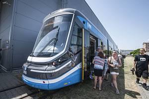 Plzeňská Škoda slaví 160 let - Areál Škoda Transportation se otevřel veřejnosti.