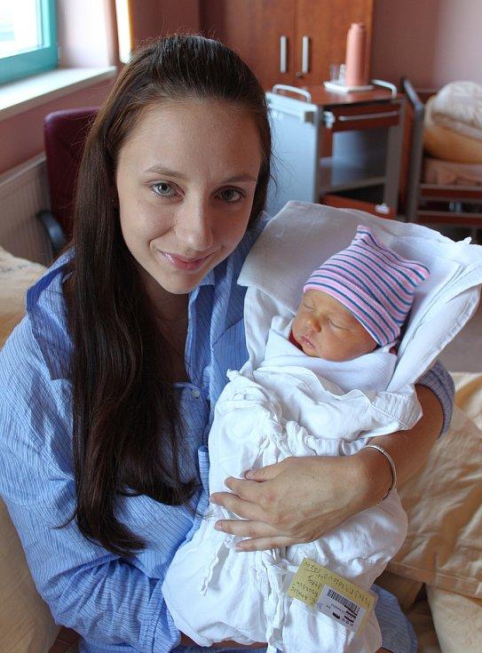 Amálie Boudová z Vejprnic se narodila 5. září v 0:26 hodin (3470 g). Rodiče Karolína a Petr věděli, že jejich prvorozené miminko bude holčička.