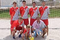 Plzeň Team nesplnil v oslabené sestavě roli jednoho z favoritů a skončil na finálovém turnaji Českého poháru v plážovém fotbale na čtvrtém místě
