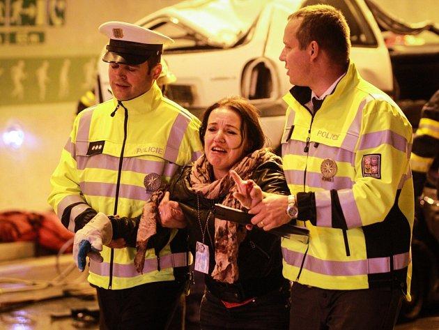 30. září 2015 - velké cvičení záchranářů