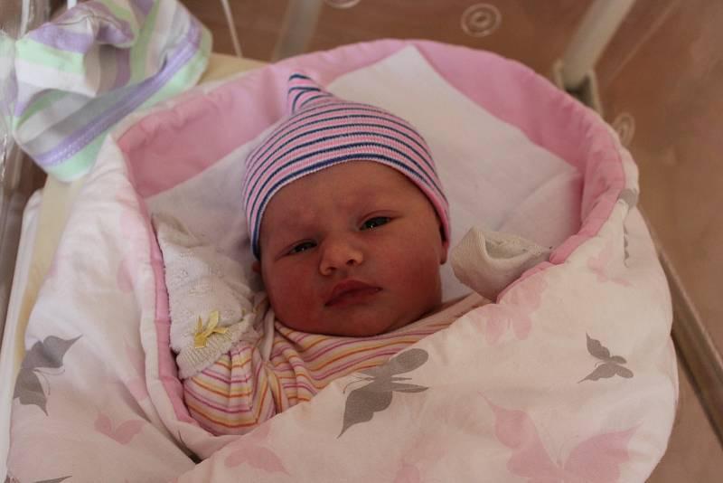 Nikol Šeflová (3610 g, 53 cm) se narodila 27. července v 0:10 ve Fakultní nemocnici v Plzni. Rodiče Eva a Michal ze Stupna věděli dopředu, že malé Elence (1,5) přivezou z porodnice sestřičku.
