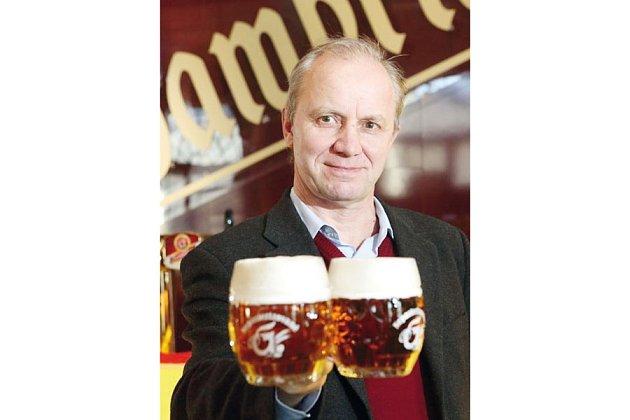 Pavel Zhek, obchodní sládek, dříve sládek a ředitel pivovaru