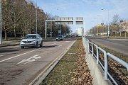 Uzavírka Studentské ulice v Plzni